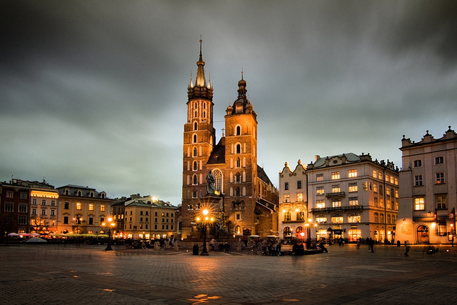 Krakow - Saint Mary's Church