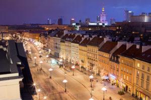 Warsaw - Krakowskie Przedmieście